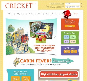 Cricket Magazine Mailing Services