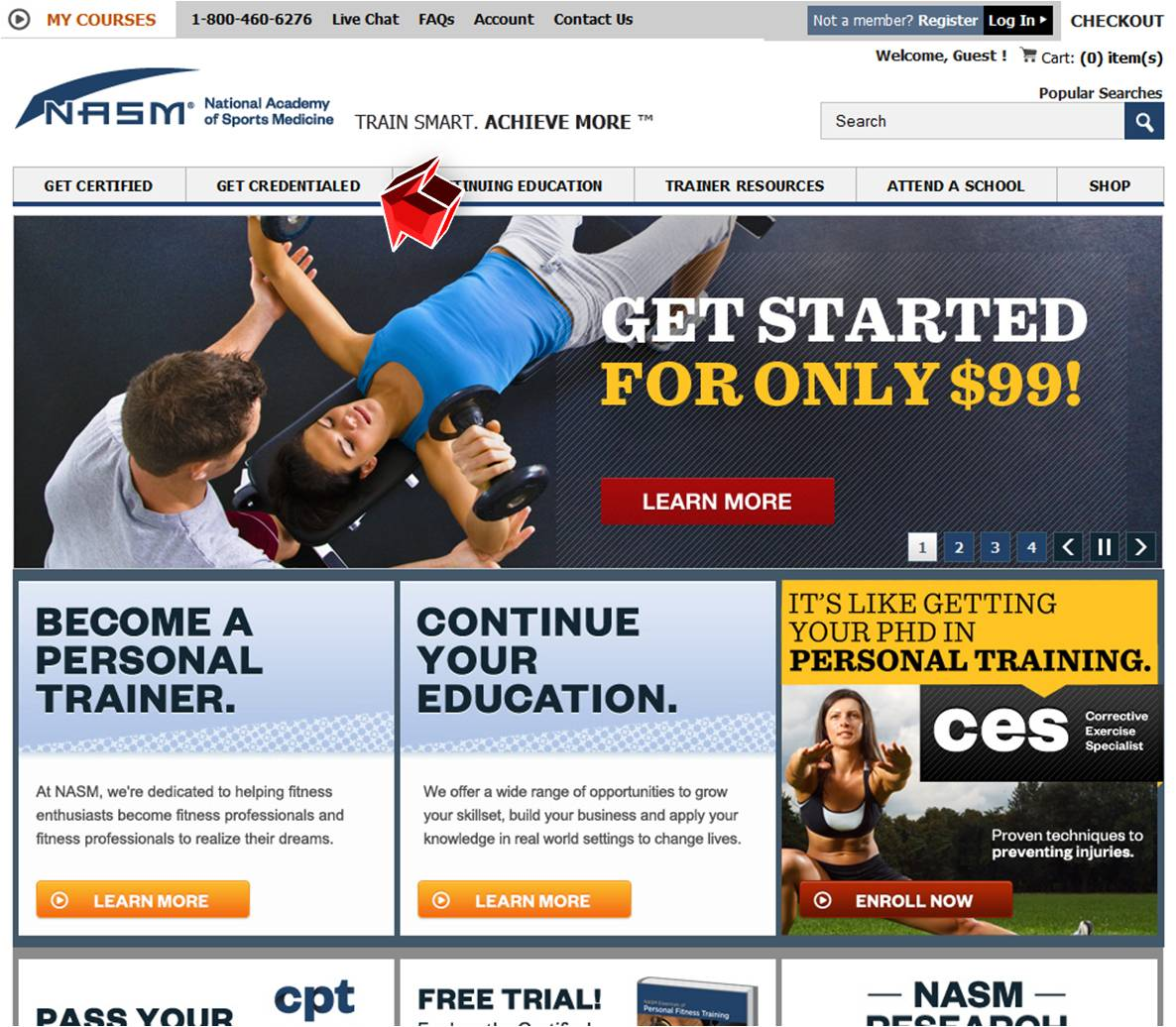 Fitness Nutrition Specialist from NASM   Coupon Code