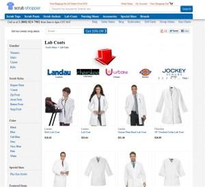List of Lab Coats from Scrubshopper