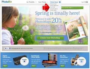 Sacnning Services from PhotoBin