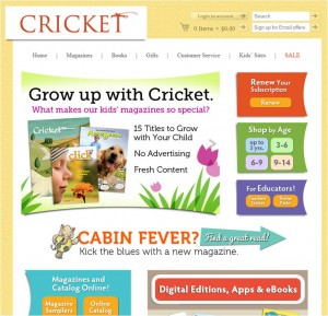 Step1 to Enter Cricket Magazine Coupon
