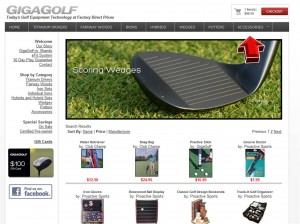 Accessories from GigaGolf