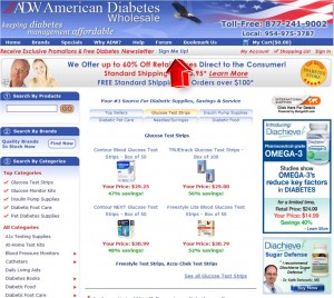 American Diabetes Wholesale Mailing Services