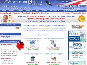 Glucose Test Strips from American Diabetes Wholesale