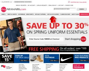 Hats & Accessories from Aramark