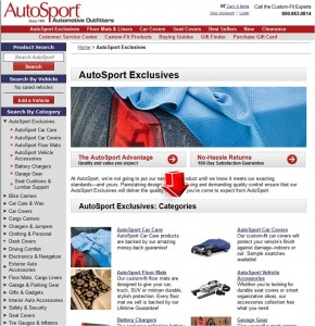 List of AutoSport Exclusives from AutoSport Catalog
