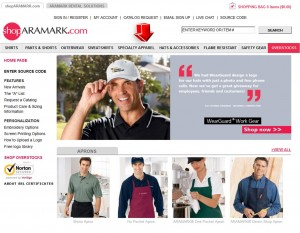 List of Hats & Accessories from Aramark