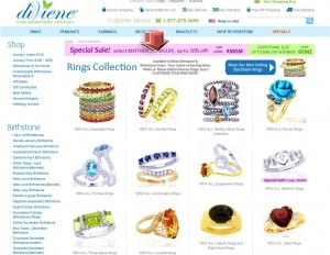 List of Ring from diViene