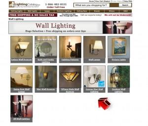 List of Wall Lights from Lighting Catalog