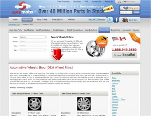 List of Wheel and Rims from Automotix