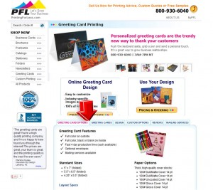 PrintingForLess Greeting Cards Information