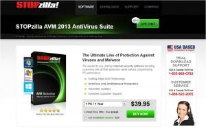 STOPzilla AVM 2013 AntiVirus Suite