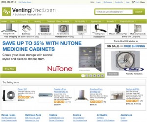 Step1 to Enter VentingDirect Coupon Code