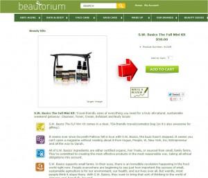 Step2 to Enter Beautorium Coupon