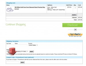 Step3 to Enter diViene Coupon Code
