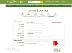 Step5 to Enter Beautorium Coupon