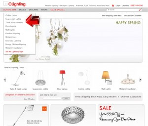 Table & Desk Lamps from OLighting