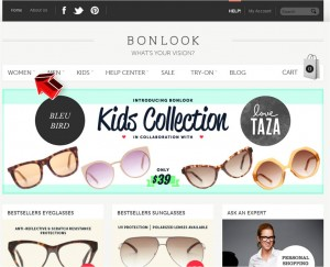 Women's Eyeglasses and Sunglasses from BonLook