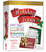 Holiday Fonts