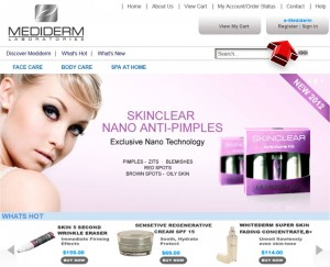 Mediderm Skin Care Mailing Services