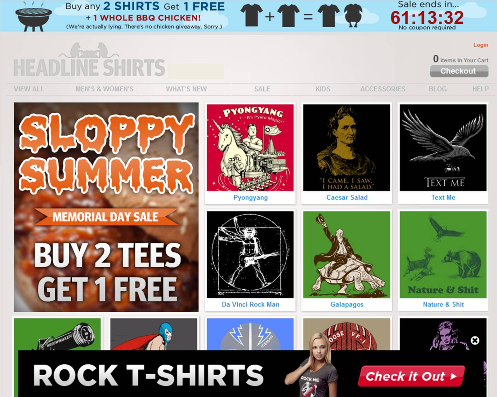 Headlineshirts coupon code