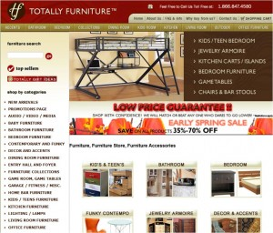 Step1 to Enter Totally Furniture Coupon