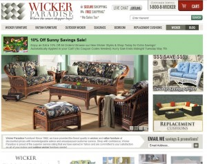 Step1 to Enter Wicker Paradise Coupon Code