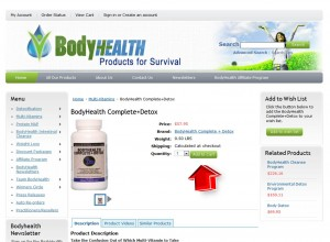 Step2 to Enter BodyHealth Coupon Code