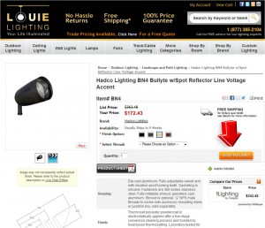 Step2 to Enter Louie Lighting Coupon Code