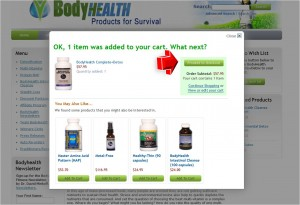 Step3 to Enter BodyHealth Coupon Code