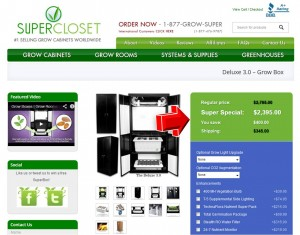 Step3 to Enter SuperCloset Coupon Code
