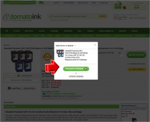 Step3 to Enter TomatoInk Coupon Code