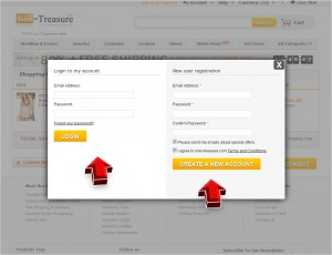 Step4 to Enter Sino Treasure Coupon