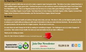 EnerHealth Botanicals Mailing Services