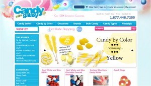 Step1 to Enter Candy Galaxy Coupon