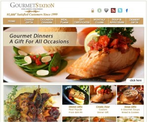 Step1 to Enter Gourmet Station Coupon Code