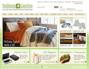 Step1 to Enter The Ultimate Green Store Coupon Code
