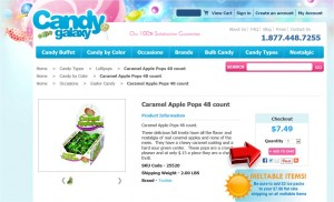 Step2 to Enter Candy Galaxy Coupon