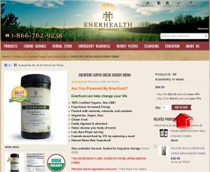 Step2 to Enter EnerHealth Botanicals Coupon Code