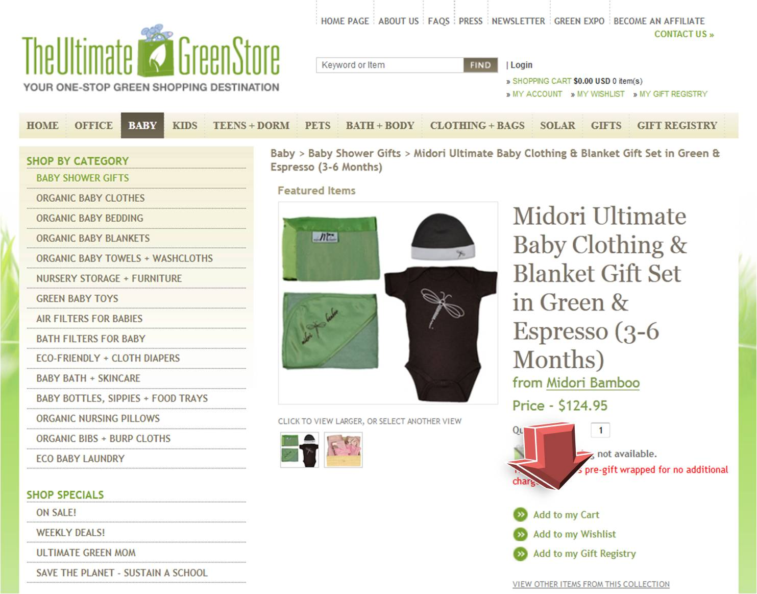 The Ultimate Green Store Coupon | Coupon Code