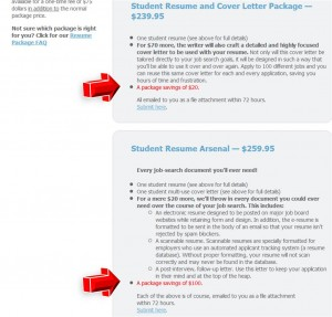 Step3 to Apply ResumeWriters Coupon Code