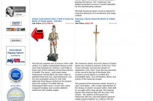 SwordsFromSpain Mailing Services