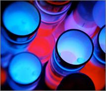 Atomic Glow Cups