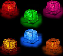 Lighted Ice Cubes