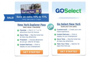 New York Explorer Pass and Go Select New York