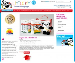 Step2 to Enter Little Pim Coupon Code
