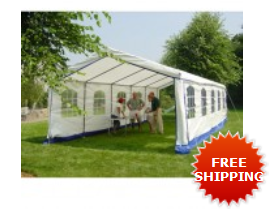 Decorative Style 14' X 27' Enclosed Party Tent