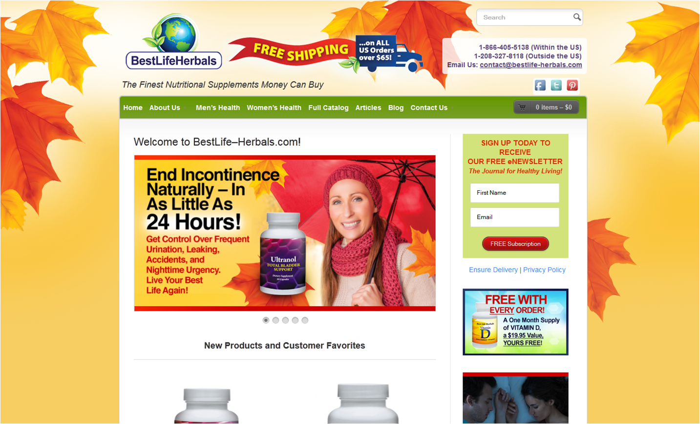 Step1 to Enter Best Life Herbals Coupon Code