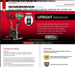Step1 to enter Diamondback Fitness Coupon Code