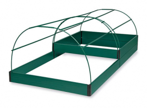 2-Tier Raised Bed with Hoops